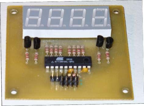 Драйвер Семисегментного Индикатора I2c